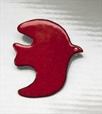 Red-enamel-bird-brooch