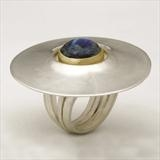 Pevsner-style-ring-silver-18ct-gold-blue-moonstone