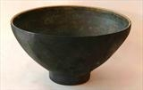 Thrown-and-altered-stoneware-bowl