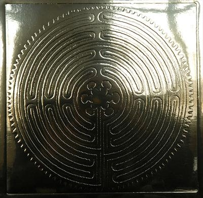 Chartres Labyrinth [Gold]