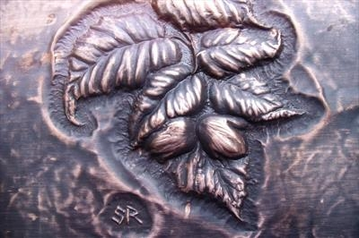 Hazel in fruit - Wall plaque (detail)