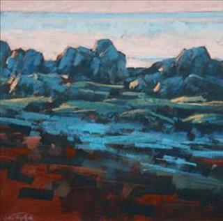 John Threlfall At Bianco Nero Gallery