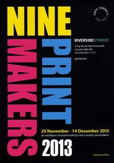 Noonie Minogue - NINEPRINTMAKERS 2013