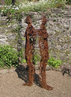 Penny Hardy - Sculpture at Bothy Vineyard